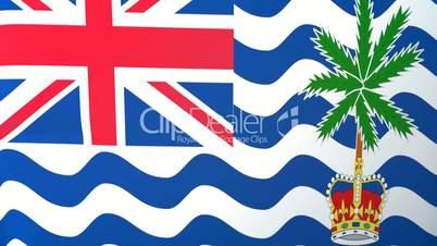 British Indian Ocean Territory Waving Flag