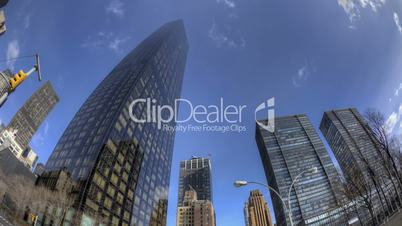 HDR Fisheye Timelapse of Trump Tower