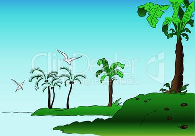 Travel palm