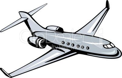 Corporate Jet Plane