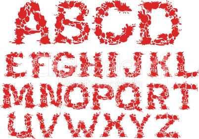 letters blots