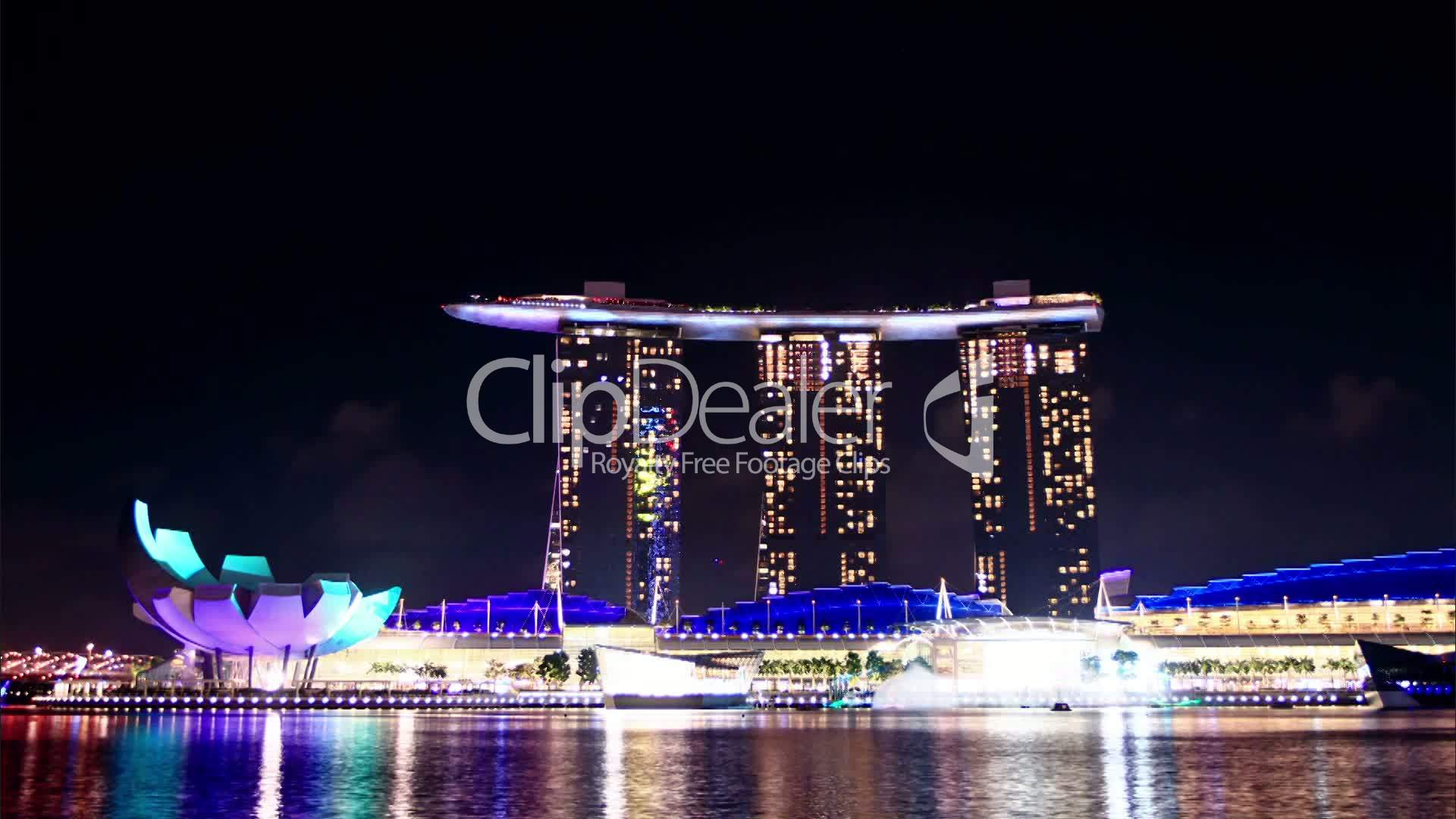 laser show in singapore time lapse royalty free video and stock footage. Black Bedroom Furniture Sets. Home Design Ideas
