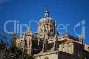 New Cathedral Dome in Salamanca, Spain