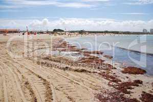 Beautiful Baleal beach at Peniche, Portugal