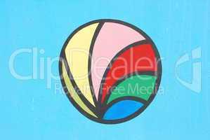 Graffiti wall (sports ball)