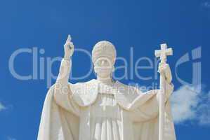 Pope Pio XII in Sanctuary of Fatima