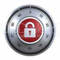 Combination Lock with padlock