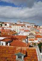 Sao Vicente de Fora church in Lisbon