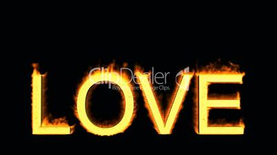 word love in flames