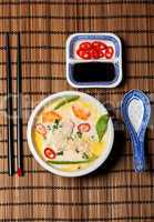 thai tom kha gai soup