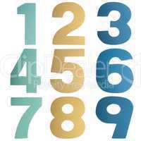 Coloful numbers