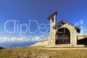 Kapelle auf dem Monte Baldo