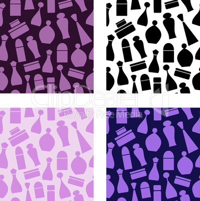 Seamless cosmetic pattern