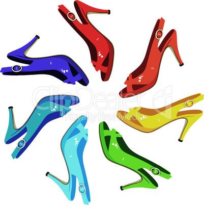 Females sandals