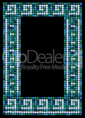 mosaic frame (portrait)