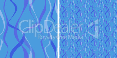 Seamless abstract background. Strip waves pattern.