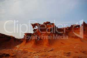 Bizarre rock formations in Little Finland, Nevada