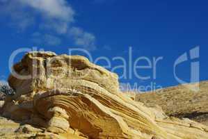 Rock formation near Escalante, Utah
