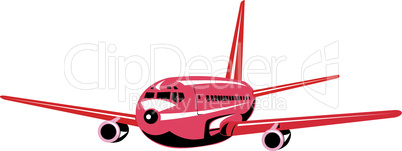 airplane jumbo jet retro