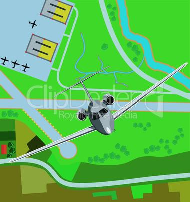 airplane retro