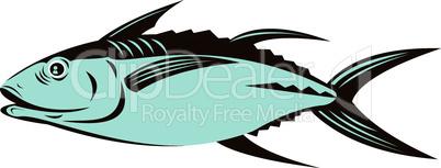 albacore tuna retro