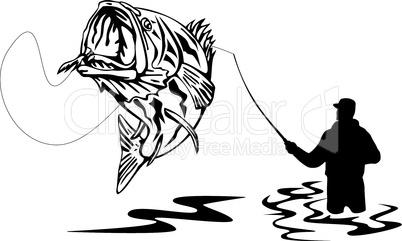 bass jumping retro