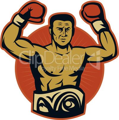 boxer championship belt