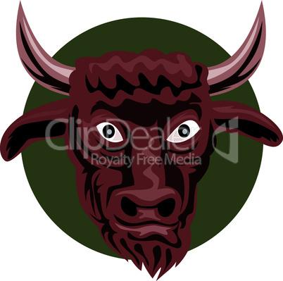 bull head front