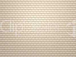 Leather stitched background with scales texture
