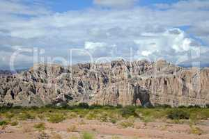 Quebrada de Cafayate, Sandsteinschlucht,  Argentinien
