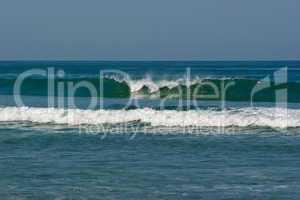 brandung am atlantik - waves at the atlantiv acean