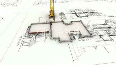 building draw