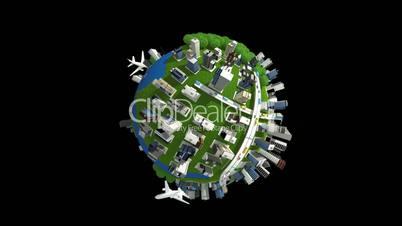 building globe full