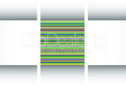 Colorful retro grunge vector background