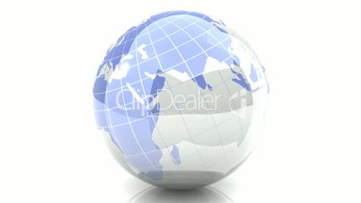 Spinning Globe - Loopable