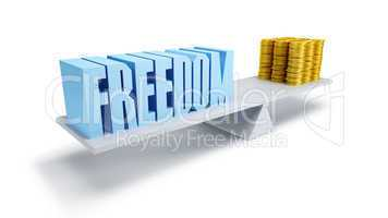 freedom and money