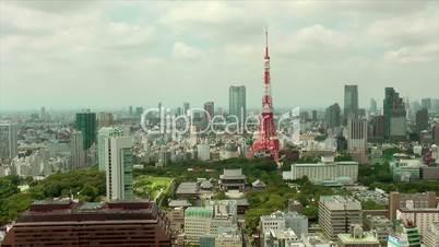 Tokyo Tower and Skyline