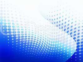 Blue dot background