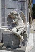 Schlafender Engel, Gomez Mausoleum, Buenos Aires