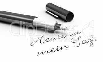 Heute ist mein Tag! - Stift Konzept