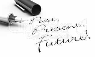 Past, Present, Future! - Stift Konzept