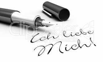Ich liebe Mich! - Stift Konzept
