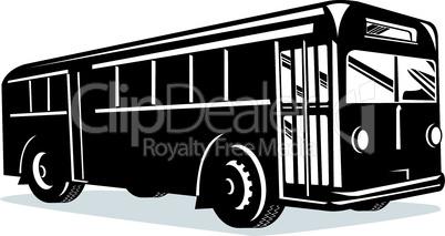 bus front iso left retro