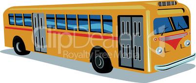 bus retro 50s