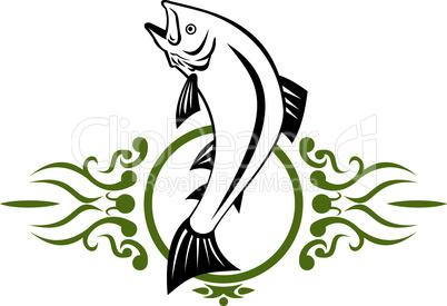 trout jumping upvert retro