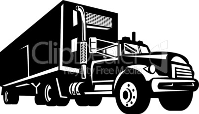 truck container front retro