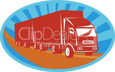 truck container van side retro