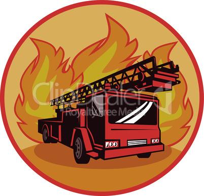 truck fire appliance retro
