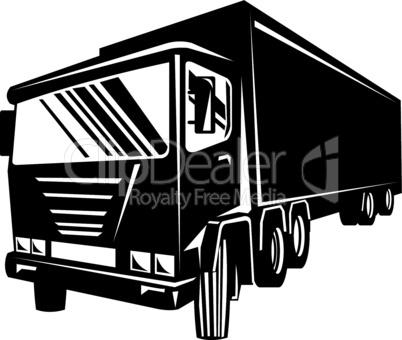 truck front iso retro