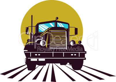 truck ptrblt front retro